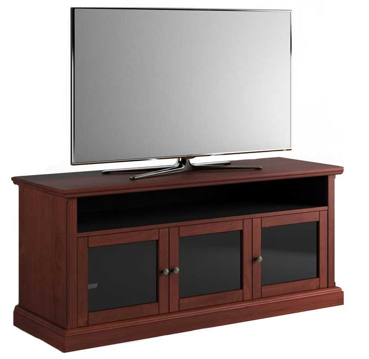 Salamander Designs Warm Cherry Tv Stand Sdav7 6629 Wc