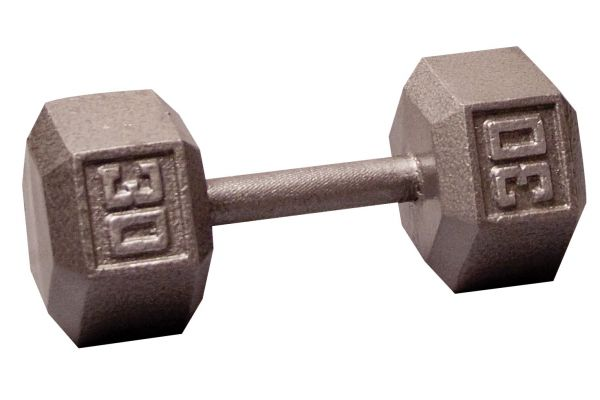Large image of Body-Solid 30 lb Hex Dumbbell  - SDX30
