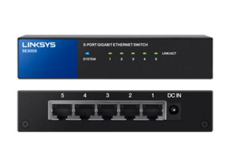 Linksys - SE3005 - Network Switches
