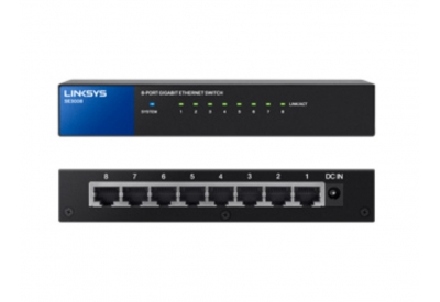 Linksys - SE3008 - Network Switches