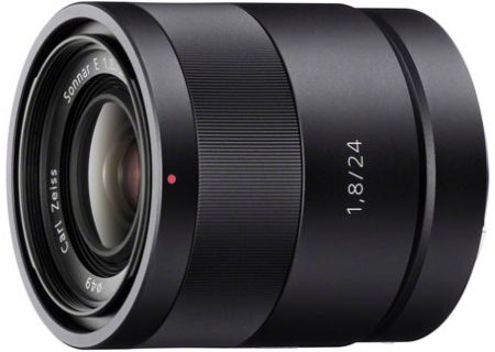 Sony 24mm f/1.8 Wide-Angle Prime Carl Zeiss Camera Lens - SEL24F18Z
