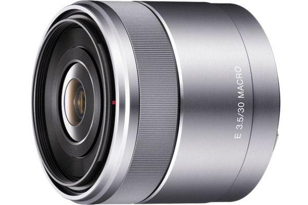 Sony  Silver E30 mm F3.5 Macro Lens  - SEL30M35