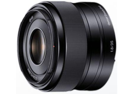 Sony 35mm f/1.8 Prime Camera Lens - SEL35F18