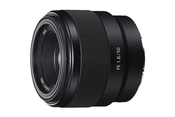 Large image of Sony FE 50mm F1.8 Lens - SEL50F18F/2