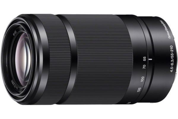 Sony 55-210mm Black Zoom Camera Lens - SEL55210/B