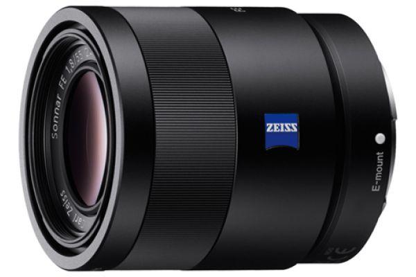 Sony Sonnar T FE 55mm F1.8 ZA Carl Zeiss Camera Lens - SEL55F18Z