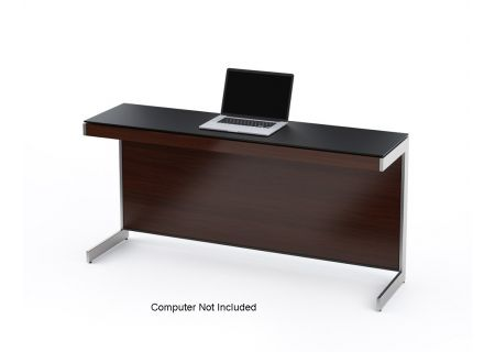BDI Sequel 6002 Return Chocolate Stained Walnut Desk  - SEQUEL6002CWL