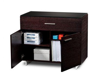 BDI Sequel 6015 Espresso Stained Oak Storage Cabinet  - SEQUEL6015ESP