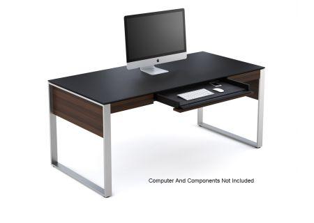 BDI Sequel Series 6021 Chocolate Stained Walnut Desk  - SEQUEL6021CWL