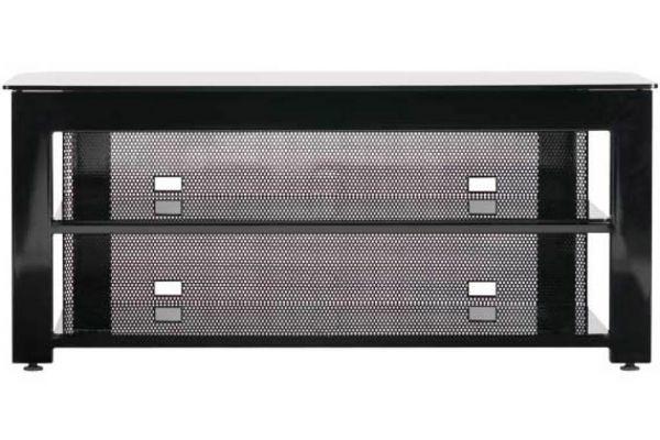 Large image of Sanus 3 Shelf Video Stand - Black Finish - SFV49B