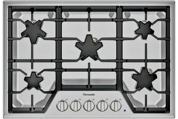 "Thermador 30"" Masterpiece Series Stainless Steel Gas Cooktop - SGS305TS"