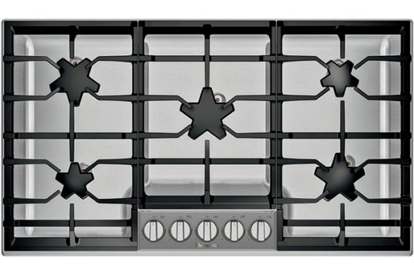 """Large image of Thermador 36"""" Masterpiece Series Stainless Steel Gas Cooktop - SGSP365TS"""