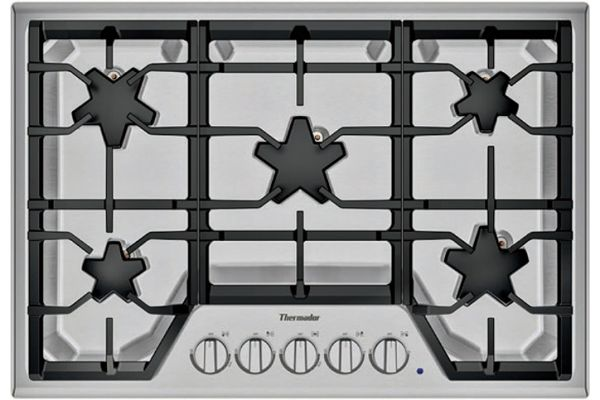 "Thermador 30"" Masterpiece Series Stainless Steel Gas Cooktop - SGSX305TS"