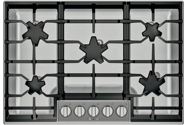 "Thermador 30"" Masterpiece Series Stainless Steel Gas Cooktop - SGSXP305TS"