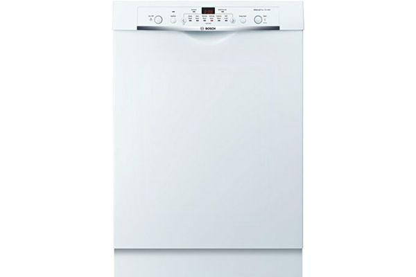 "Bosch 24"" 100 Series White Built-In Dishwasher - SHE3AR72UC"