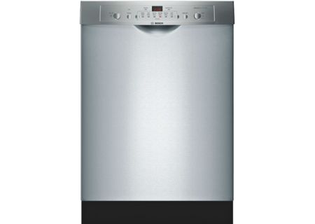 """Bosch 24"""" 100 Series Stainless Steel Built-In Dishwasher - SHE3AR75UC"""