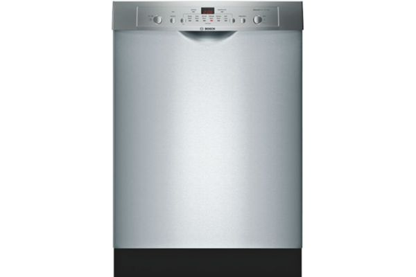 "Large image of Bosch 24"" 100 Series Stainless Steel Built-In Dishwasher - SHE3AR75UC"