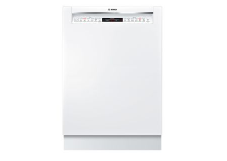 "Bosch 24"" 800 Series White Dishwasher  - SHE878WD2N"