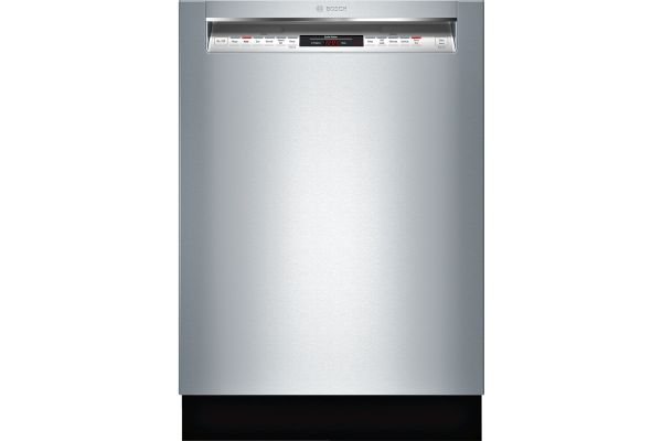 """Bosch 24"""" 800 Series Recessed Handle Stainless Steel Built-In Dishwasher - SHEM78W55N"""