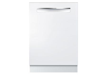 """Bosch 24"""" 500 Series White Dishwasher  - SHP865WD2N"""