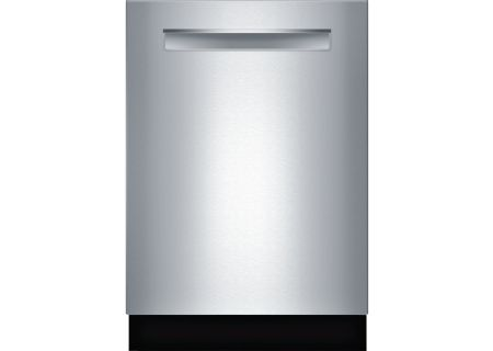 "Bosch 24"" 500 Series Pocket Handle Stainless Steel Built-In Dishwasher - SHPM65W55N"