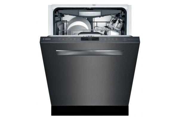 "Bosch 24"" Black Stainless Steel Dishwasher - SHPM78W54N"