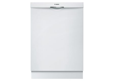 "Bosch 24"" Ascenta Series White Tall Tub Built-In Dishwasher - SHS5AV52UC"
