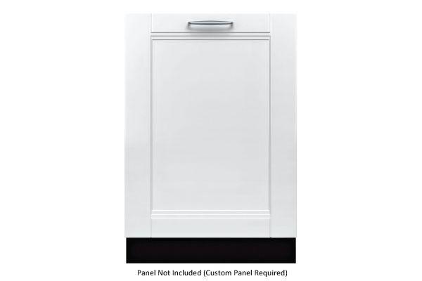 "Large image of Bosch Benchmark Series 24"" Custom Panel Dishwasher - SHV89PW73N"