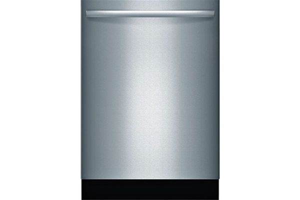 """Large image of Bosch 100 Series 24"""" Stainless Steel Bar Handle Dishwasher - SHX3AR75UC"""
