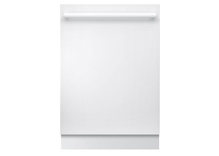"Bosch 24"" Ascenta Series White Built-In Dishwasher - SHX5AV52UC"
