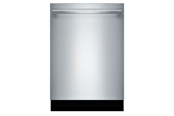 """Bosch 800 Series 24"""" Stainless Steel Built-In Bar Handle Dishwasher  - SHX878WD5N"""