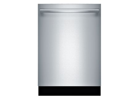 """Bosch Benchmark Series 24"""" Bar Handle Built-In Stainless Steel Dishwasher - SHX89PW55N"""