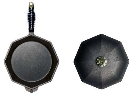"Finex 10"" Cast Iron Skillet With Lid - SL1010001"
