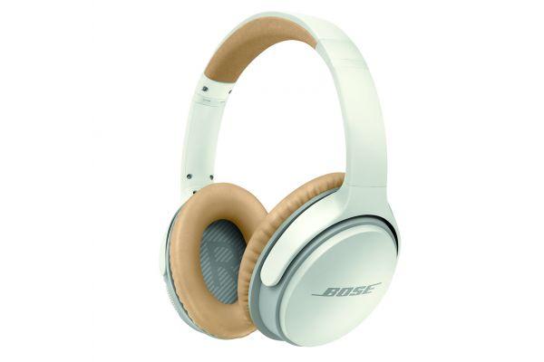 Large image of Bose White SoundLink Around Ear Bluetooth Headphones II - 741158-0020