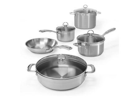 Chantal Induction 21 Steel 9-Piece Cookware Set - SLIN-9