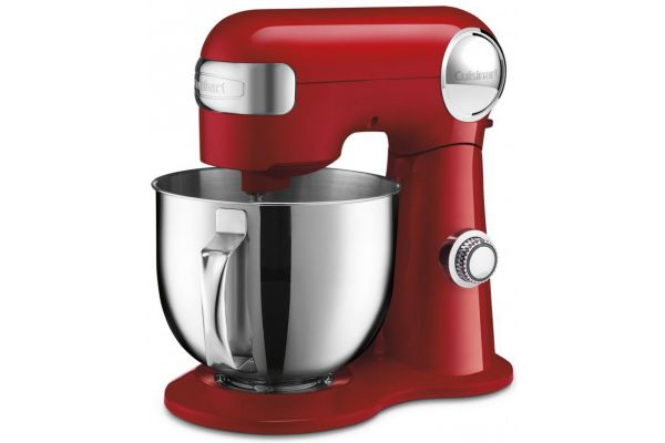 Large image of Cuisinart Precision Master 5.5 Qt Red Stand Mixer - SM-50R