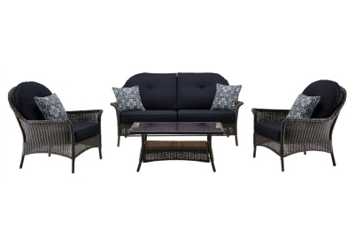 Hanover - SMAR-4PC-NVY - Patio Furniture