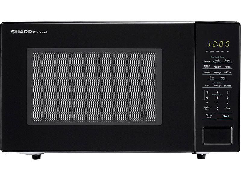 Sharp Black Countertop Microwave Smc1131cb