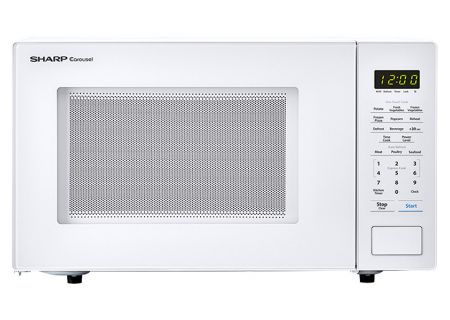 Sharp White Countertop Microwave - SMC1131CW