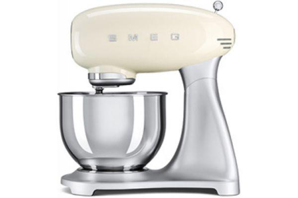 Smeg 50s Style Cream Stand Mixer - SMF01CRUS