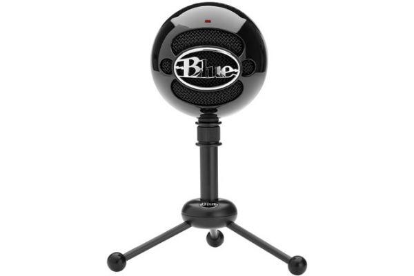 Large image of Blue Microphones Snowball Black USB Microphone - SNOWBALLBLACK