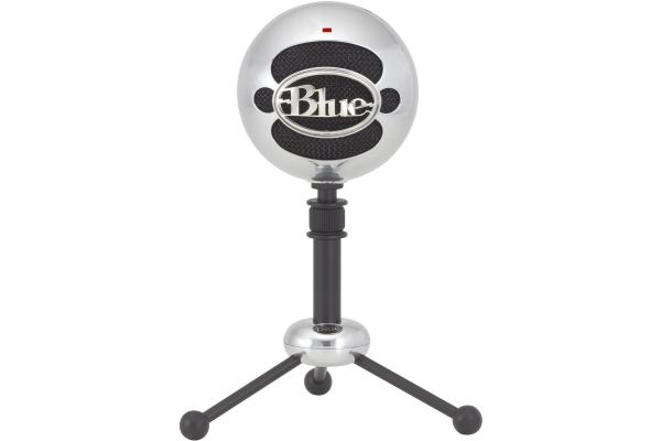 Blue Microphones Snowball Brushed Aluminum USB Microphone - SNOWBALL-BRSHEDALUMI