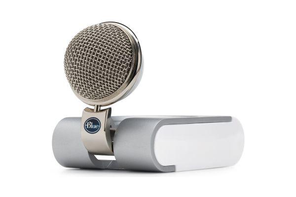 Blue Microphones Snowflake Portable USB Microphone - SNOWFLAKE