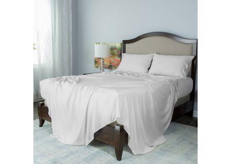 Protect-A-Bed White Split King Essentials Tencel Lyocell Deep Pocket Sheet Set - SNT0142S-01