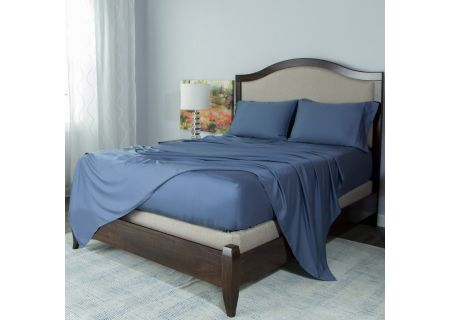 Protect-A-Bed Blue Split  King Essentials Tencel Lyocell Deep Pocket Sheet Set - SNT0142S-04