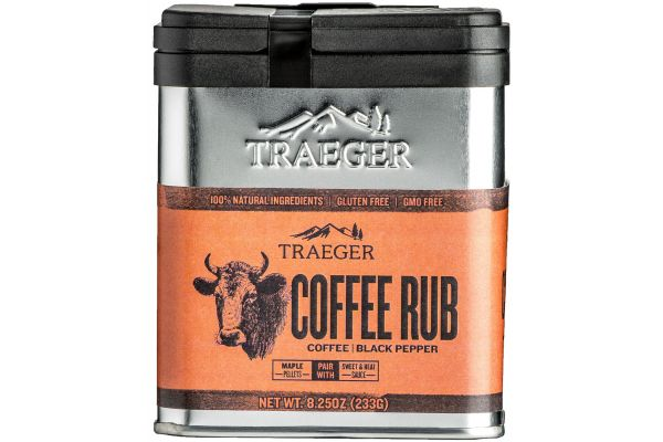 Large image of Traeger 8.25 oz Coffee Rub - SPC172