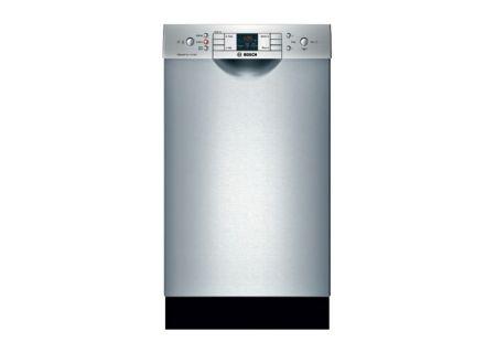 "Bosch 18"" 300 Series Stainless Steel Built-In Dishwasher - SPE53U55UC"