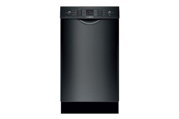 "Large image of Bosch ADA 18"" 300 Series Black Built-In Dishwasher - SPE53U56UC"