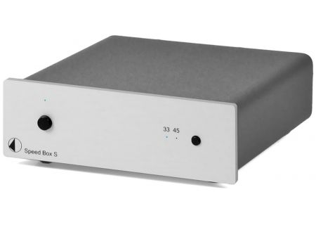 Pro-Ject Speed Box S Silver Electronic Motor Control - SPEEDBOXSSIL