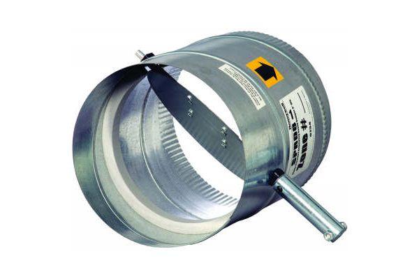 "Honeywell 10"" Round Barometric Damper  - SPRD10"